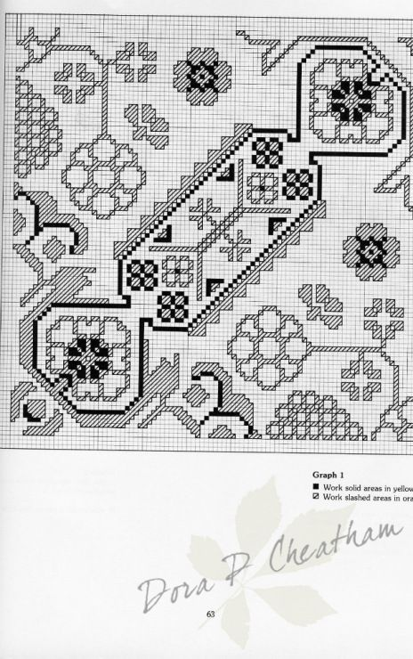 Gallery.ru / Фото #70 - Needlepoint Designs from Oriental Rugs - Dora2012