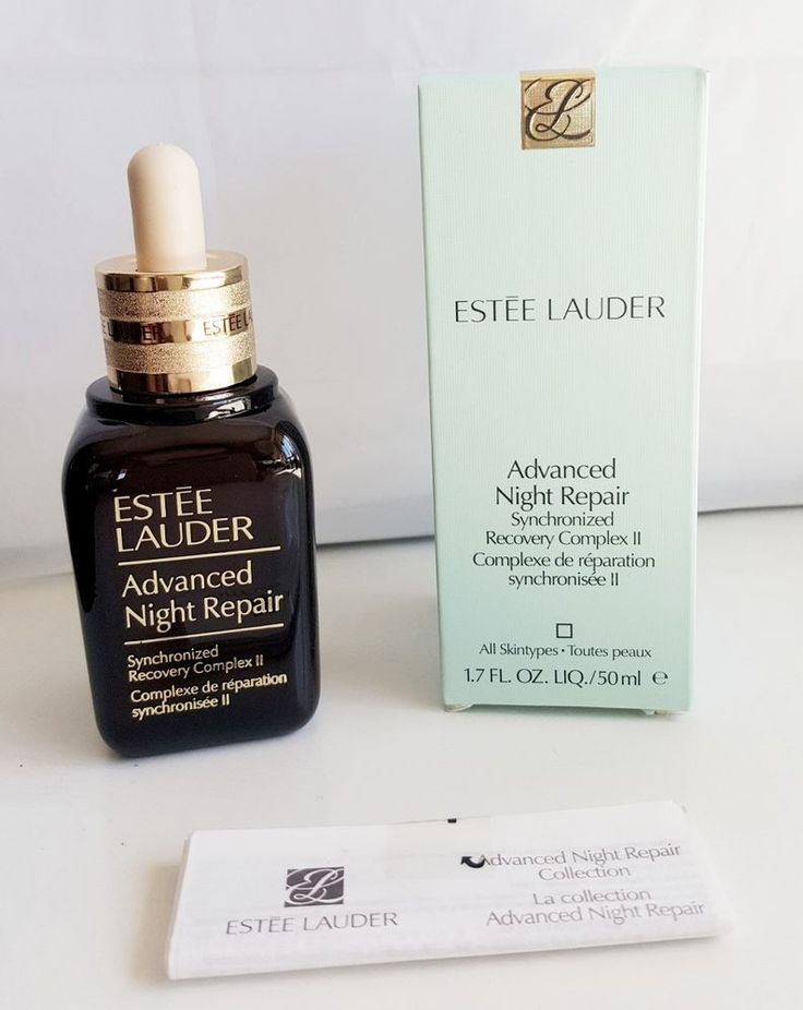 ESTEE LAUDER ADVANCED NIGHT REPAIR 50ML. Ideal for all skintypes, this is one of the most popular and effective products to fight multiple signs of ageing. It is used for visible age prevention, dryness, dehydration, lines and wrinkles, dullness and loss of radiance. | eBay!