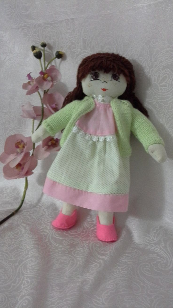Handmade Cloth Doll - 36 cm