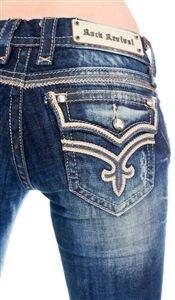 Rock Revival Jeans for Women available at Lalunacouture.com