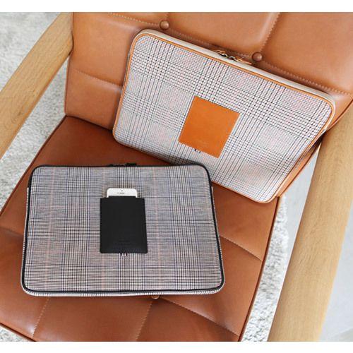Indigo The Basic canvas laptop pouch case 15 inch …