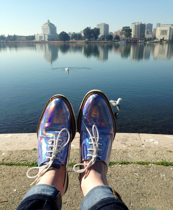 Hologram Oxfords / Outfit Breakdown - New Post on http://cometwest.typepad.com