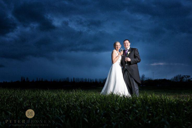 Night time snap #thegranaryestates #thegranarybarn #peterdenness #photographer #suffolkvenue #fields #weddingphotos #brideandgroom