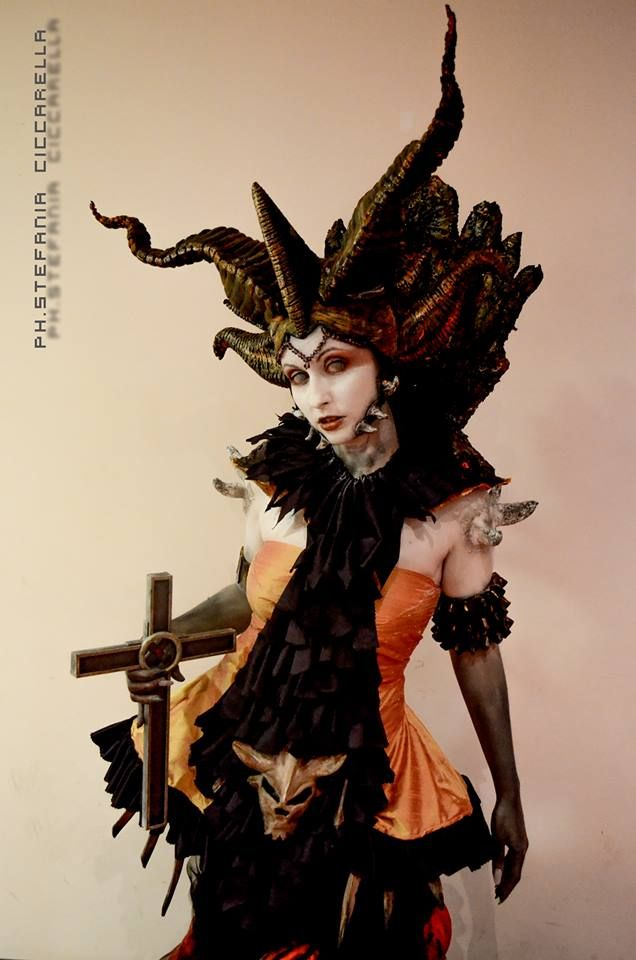 Dante's Inferno - Beatrice Queen of Hell by Alvyan.deviantart.com on @deviantART #underworld2014