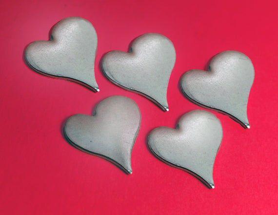 Ten 1 Curved Aluminum Heart Blanks 18g Aluminum Heart Blanks Stamping Blanks Greatful Etsy Gift Card