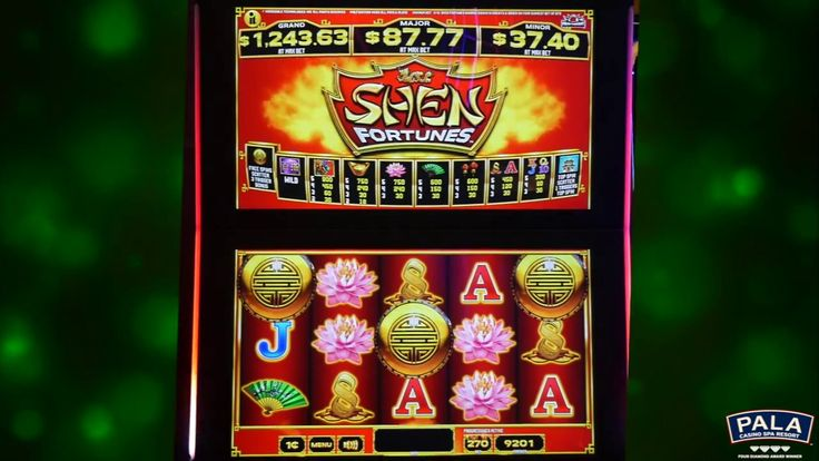 Shen Fortunes has definitely brought us good luck! Watch as we hit the Bonus Feature, collect the five Jade Frames in a row & win the Major Progressive! #PalaCasino
