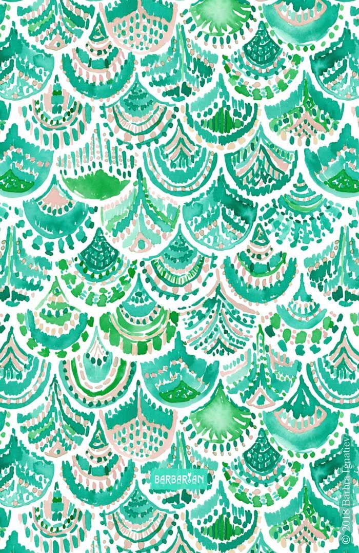 Venus De Mer Green Blush Mermaid Scales