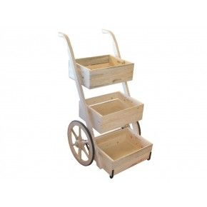 Vendor's Hand Cart-Ready to Assemble