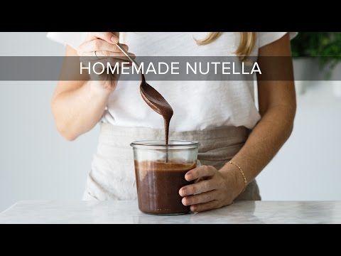 How to Make Homemade Nutella (dairy-free, vegan, paleo) | Downshiftology - YouTube