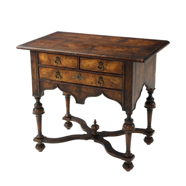 William and Mary Lowboy Dressing Table