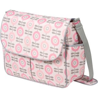 The Bumble Collection Amber Tote Diaper Bag in Modern Floral | Overstock.com Shopping - Big Discounts on The Bumble Collection Messenger Diaper Bags