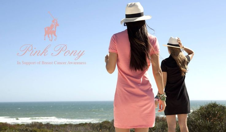 Polo Pink Pony in support of CANSA and Breast Cancer Awareness month