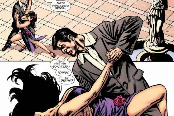 Ed ecco Batman che balla il Tango!