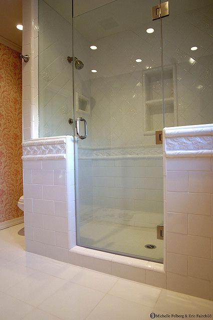 Tile Walk In Shower Designs Walk In Shower For A Modern Bathroom Banos Pinterest Banos