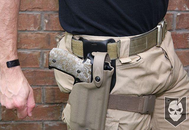 Safariland 6070 Mid Ride Belt Loop Adapter Tactical Gear