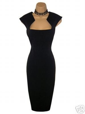 This would be a perfect pageant interview dress. #LBD