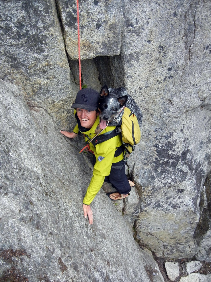 What's better than a day of climbing? Bringing a good friend along. (via AltusMountainGuides.com)