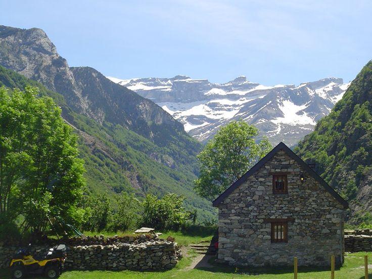 Maison coupée du monde à Bonneval-sur-Arc, non loin de la station mondialement connue de Val d'Isère.