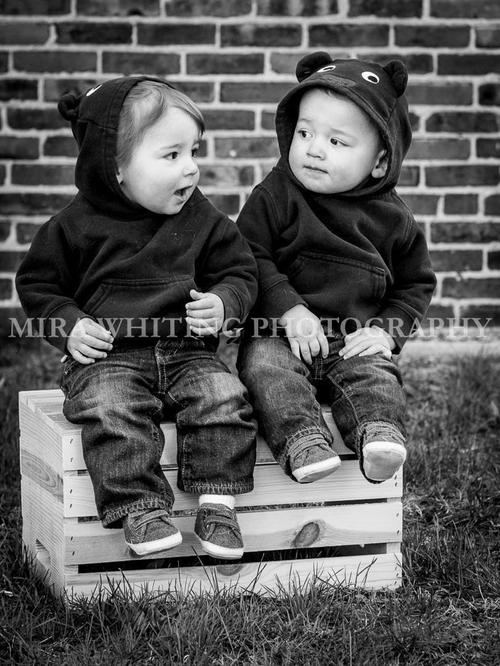 Twin Toddler Boys  | Mira Whiting Photography