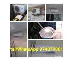 Instalação de ar split inverter ou split convencional