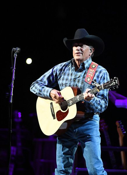 "George Strait Photos Photos - (EXCLUSIVE COVERAGE) Recording artist George Strait performs during one of his exclusive worldwide engagements, ""Strait to Vegas"" at T-Mobile Arena on September 9, 2016 in Las Vegas, Nevada. - Strait to Vegas - George Strait in Concert - September 9, 2016"