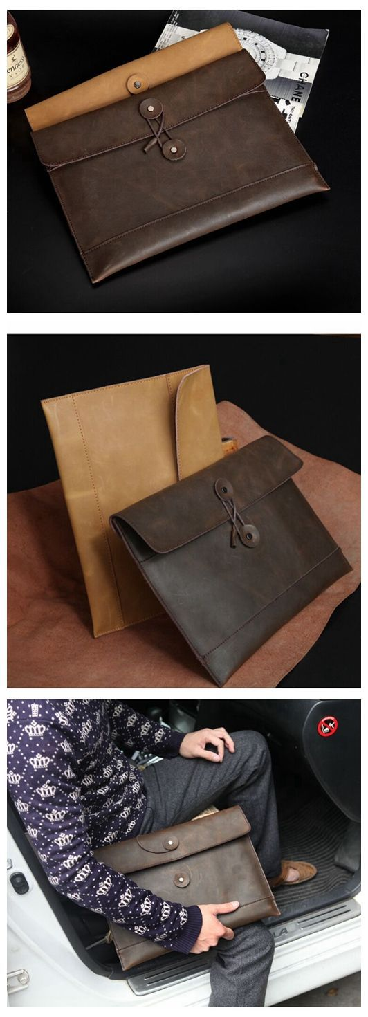 HANDMADE FASHION ENVELOPE CLUTCH IPAD LEATHER BAG IPAD LEATHER SLEEVE IPAD LEATHER CASE IPAD LEATHER CORVER