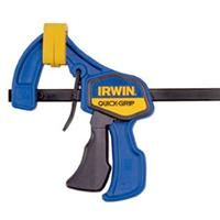 For the woodworker, you can never, never have too many clamps.  These quick grip clamps are a must have!