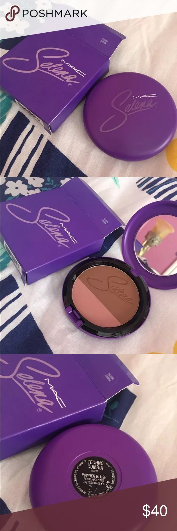 Selena Mac collection Techno cumbia powder blush MAC Cosmetics Makeup Blush