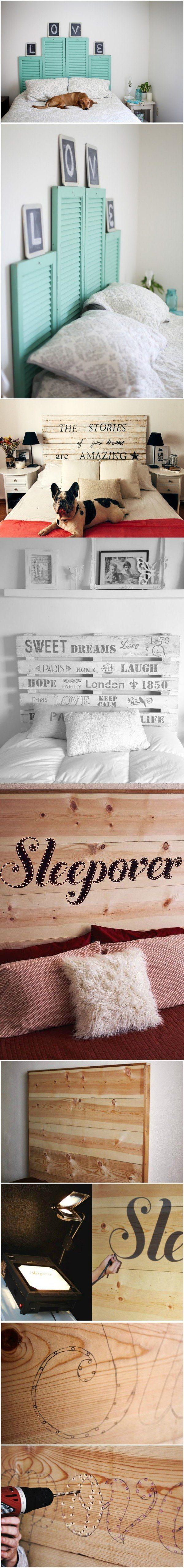 Un cabecero de cama único / https://proyectos.habitissimo.es