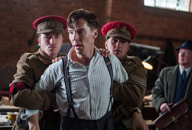Associated Press: Nov. 29, 2014 - Movie review, 'The Imitation Game:' Cumberbatch shines as gay wartime codebreaker Alan Turing