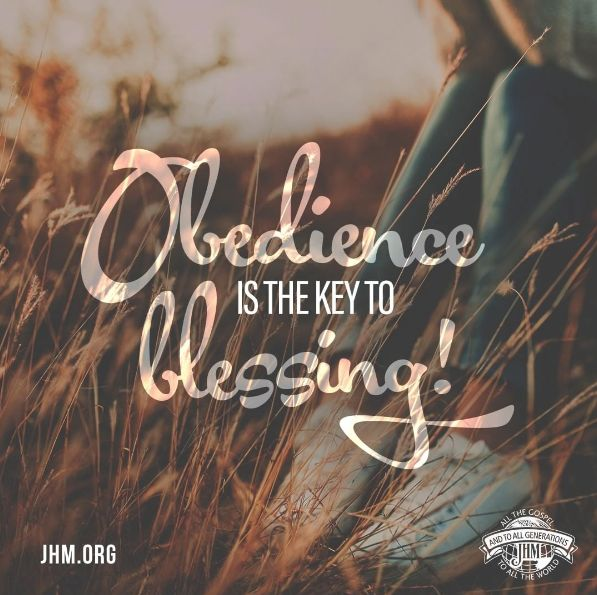 Being obedient will determine your spiritual destiny. Are you willing to not just pray, but OBEY God's will for your life this year? #Pray #Obey #Faith #God #Blessed #Trust