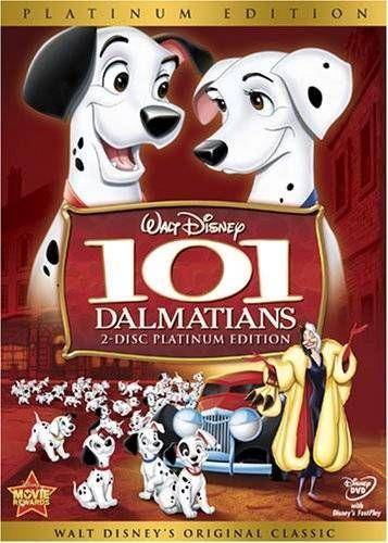 101 Dalmatians 2DVD platinum edition - DVD -