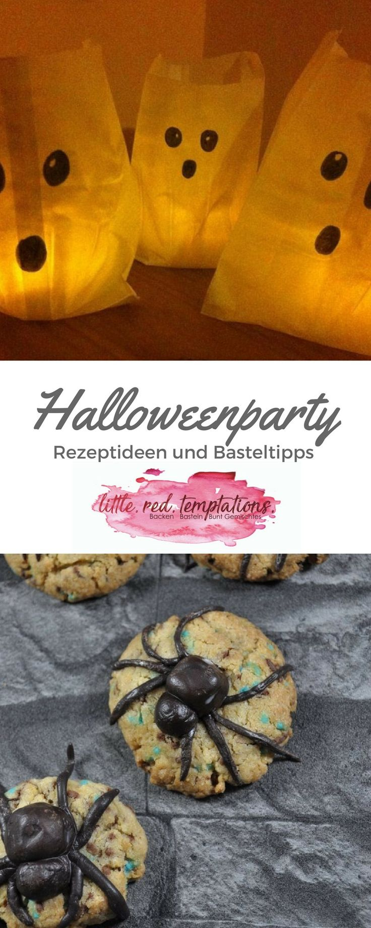 Ideen für deine Halloween Party: Halloween Rezept-Ideen, gruselige Basteltipps und Partyspiele rund um Halloween - jede Menge DIY und Rezeptideen findest du auf dem Blog