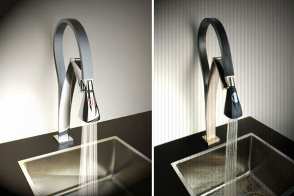 hybrid kitchen faucet by paini