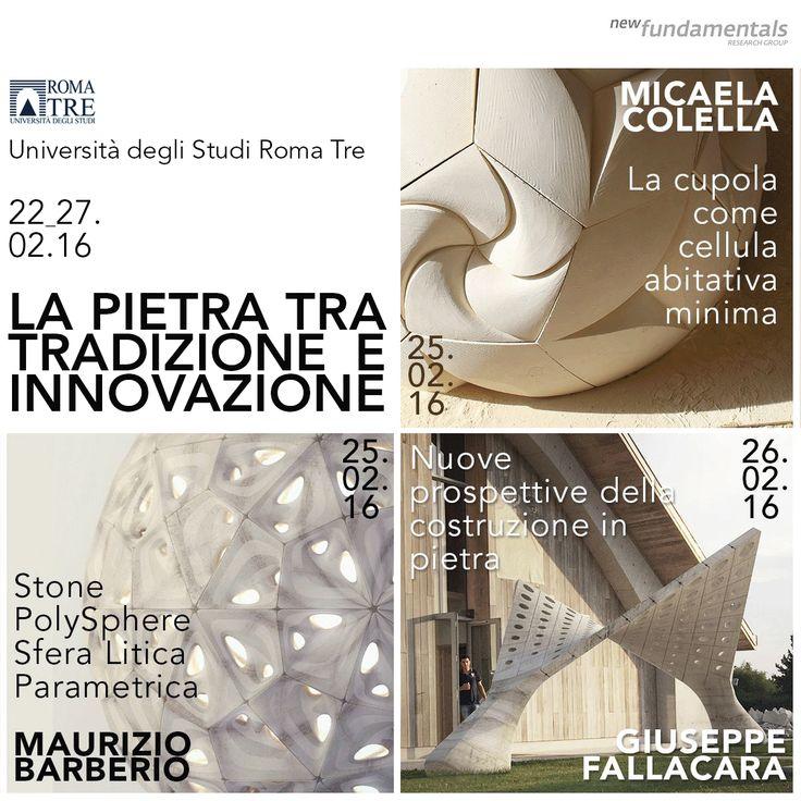 'Cupola Ghibli' Workshop Università Roma Tre. 25.02.16