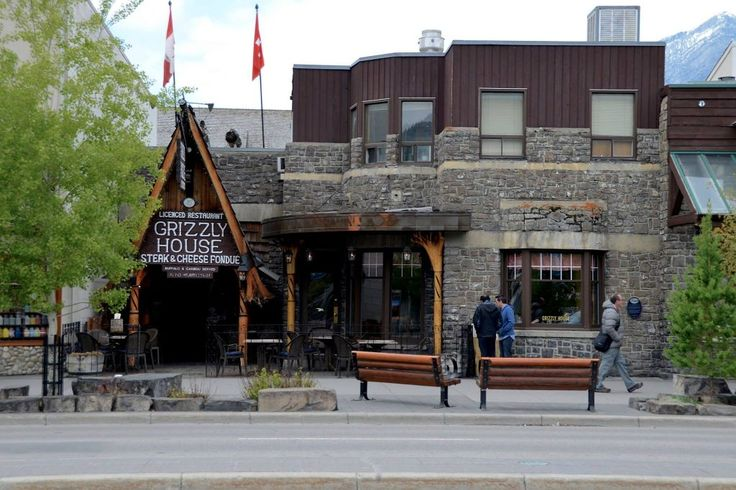 """Grizzly House in Banff, Alberta, Canada - May 2016 from """"A Lady and her Luggage"""""""