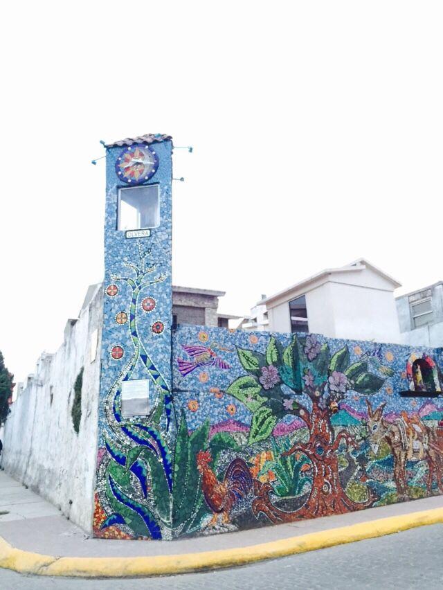 Mural at Zacatlán de las Manzanas, Puebla, México