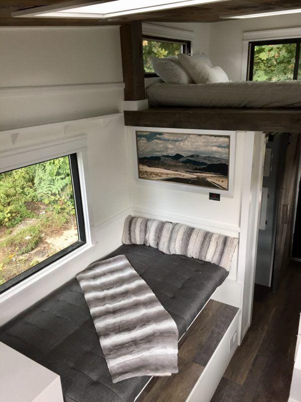 Arcadia 24ft Rustic Tiny House With Shou Sugi Ban Siding Tiny