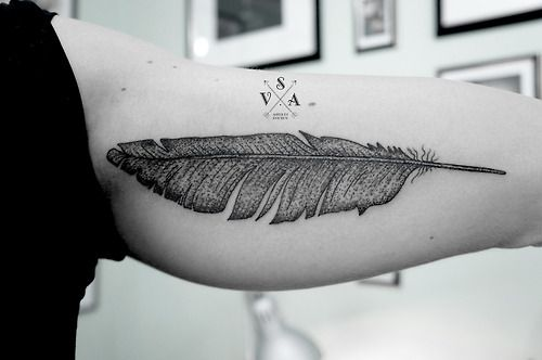 Feather Tattoo | Andrei Svetov, Russia