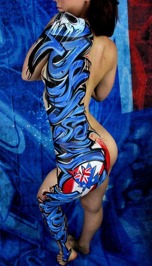 13 best graffiti body paint images on pinterest