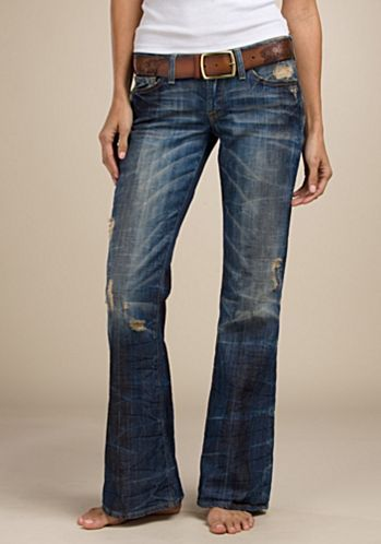 Legend Women's Flare Jeans - Legend Bottoms - Lucky Brand Jeans. These look SO comfy,  I want