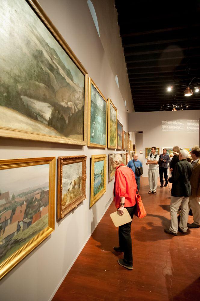 Tisková konference před otevřením výstavy