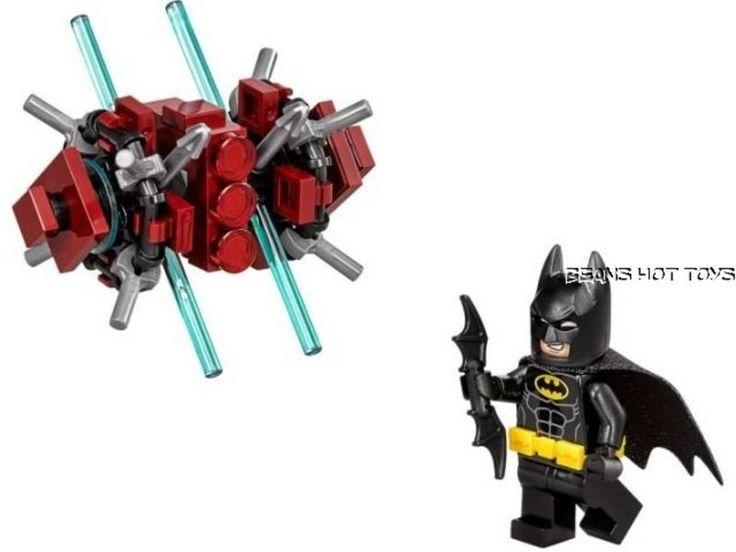 LEGO 30522 *BATMAN MOVIE* Batman in the Phantom Zone 59 pc polybag NEW #LEGO