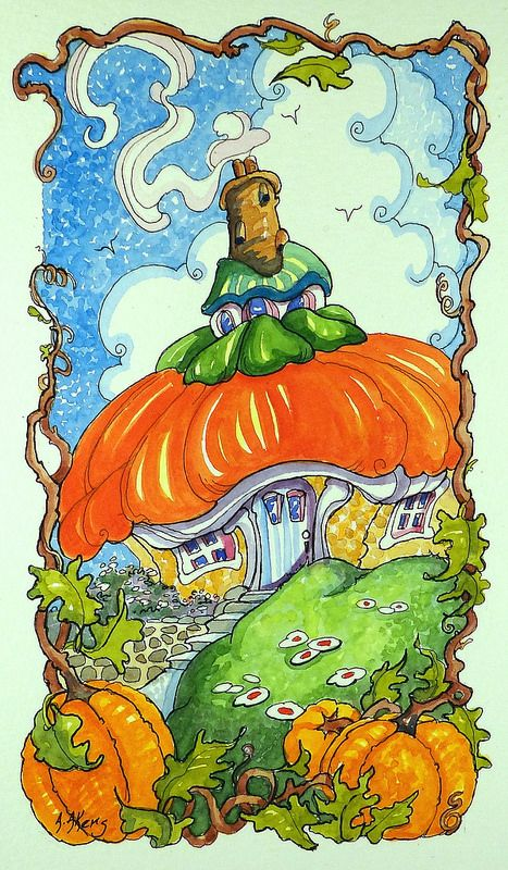 A Simple Harvest Home Storybook Cottage Series