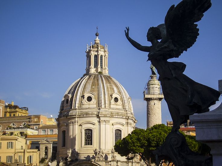 Angels of Rome, the Eternal City - Italy