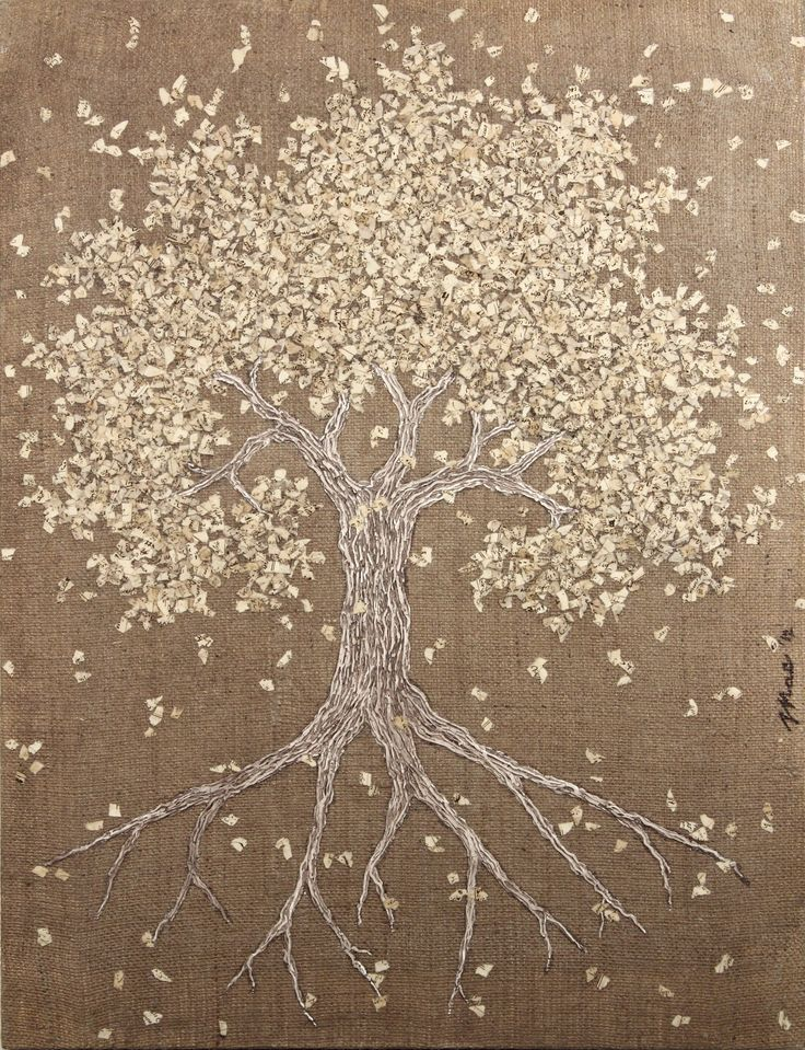 Artist: Mac. Made with Ucic products #painting #canvas #picture #tree 79x61