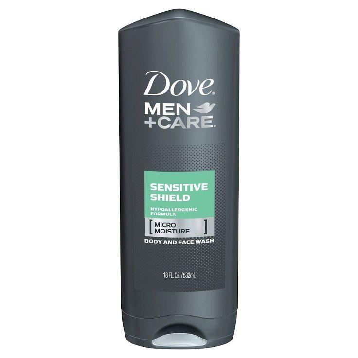 Dove Men+Care Sensitive Shield Body Wash 18 oz