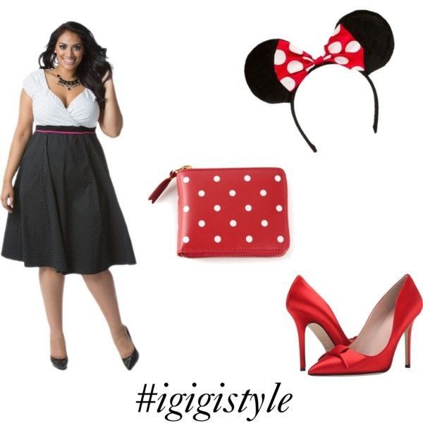 minnie mouse plus size halloween costume