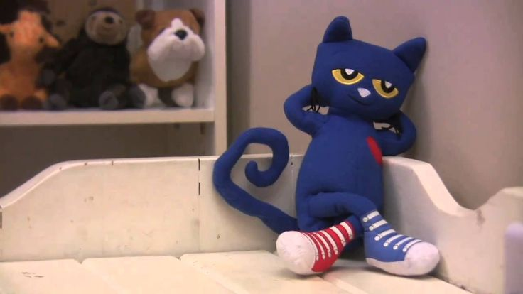 Pete the Cat - Dancing Pete Doll.  Someone did some stop action with this Pete doll.  OMG- The kids would go CRAZY over this!!!!