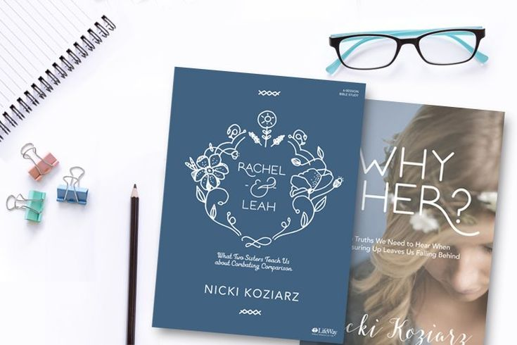 Earlier this week, we released Nicki Koziarz's new study—Rachel & Leah: What Two Sisters Teach Us About Combatting Comparison. If you missed the excerpt, find it here. In this study, you'll: Discover what the Bible says about God, Rachel, Leah, and Jacob, and how God used flawed people for His kingdom Learn to define success …